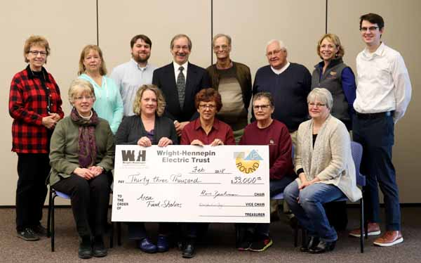 Wright-Hennepin Members Donate $55,000+ to Local Organizations